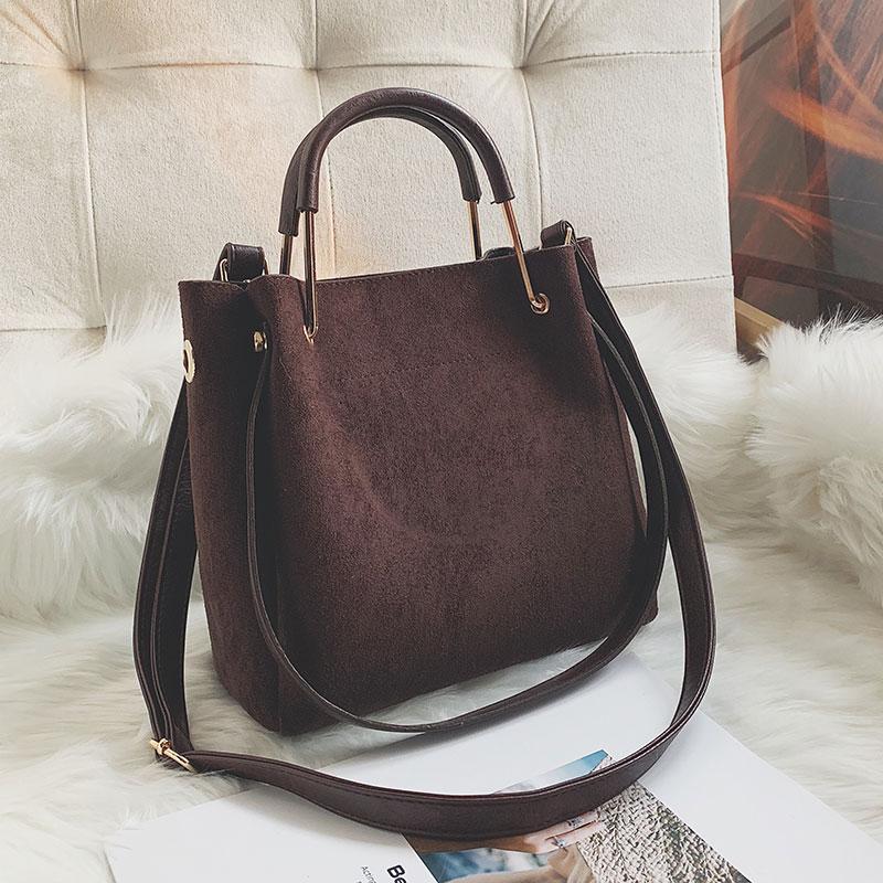 Detail Feedback Questions about 2019 Vintage Women s Bag Shoulder Female  Luxury Suede Leather Messenger Bag Women s Crossbody Ladies Hand Bags for  Women sac ... de9d59a4a2
