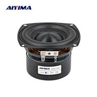 AIYIMA 4Inch Audio Portable Speaker 4 8 Ohm 40W Full Range Bass Speaker Altavoz Portatil Hifi