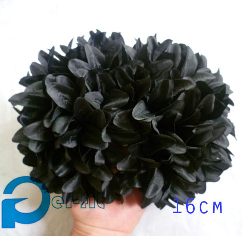 big flower hijab clip volumising flower clip silk hair claw flower khaleeji volumizer 16cm 15pcs/lot