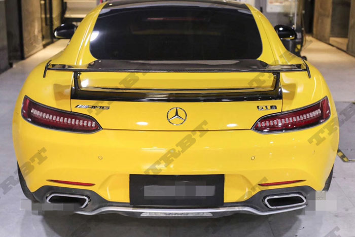 Us 3888 0 Fit For Mercedes Benz Amg Gt Amg Gts Amg Gtr Carbon Fiber Wing Spoiler In Spoilers Wings From Automobiles Motorcycles On