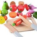Mother Garden Kids Kitchen toys Фрукты Овощи Резки Детские Play house Family Game food Toys Для девочка мальчик