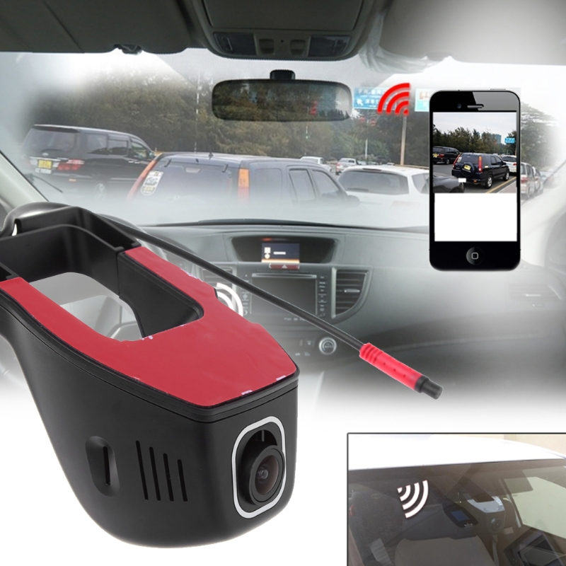 Full HD 1080P WIFI Car DVR Dash Cam Night Vision Car Camera Decor 170 Degree