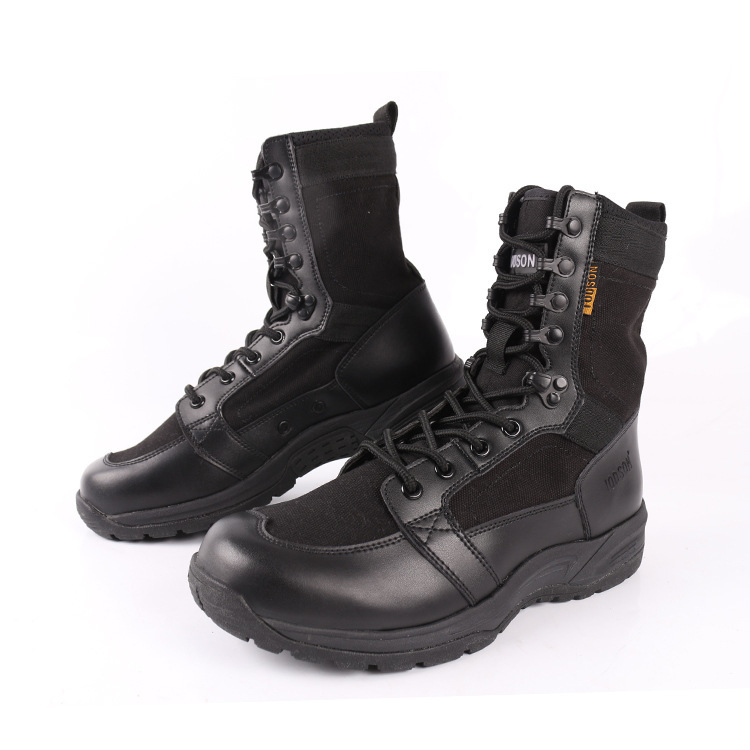 Army-Boots Safety-Shoes Waterproof Climbing Military Sport-Work Outdoor Ultralight High-Top