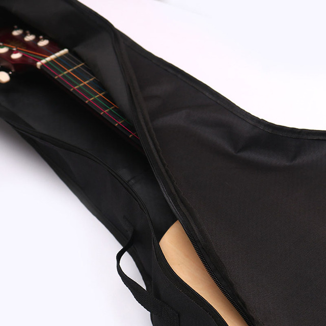 """Waterproof Black Oxford Cloth 41""""Electric Acoustic Guitar Bag Case Bass Carry Shoulder Strap Musical Instrument Accessories 3"""