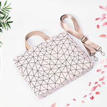 2018 PU Leather Bag for Laptop 11″12″ 13″ 14″ 15.6″ Geometric Case For MacBook Air/Pro 13.3″,15.4″ Shoulder Bag Free Shipping