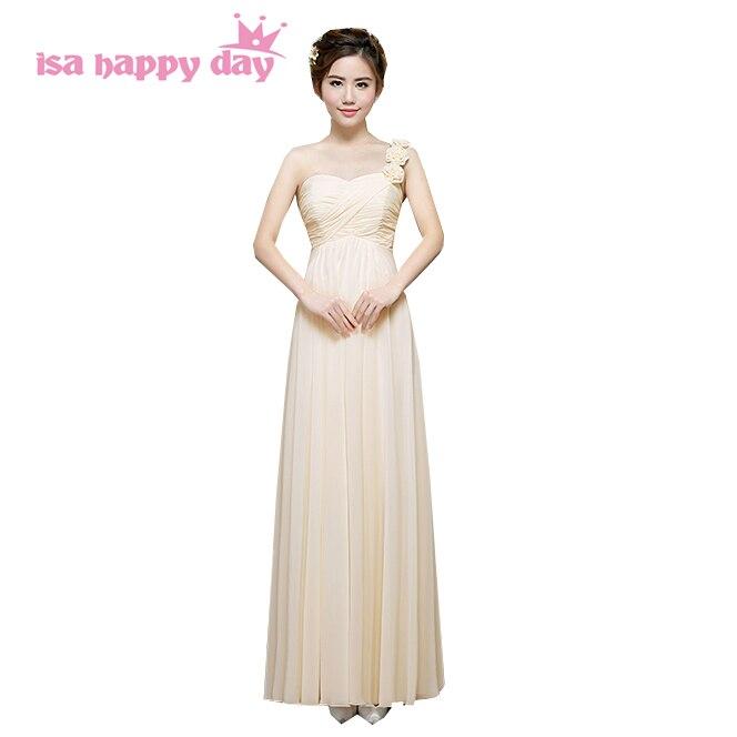 Aliexpress.com : Buy One Shoulder Simple Long Gown Dress