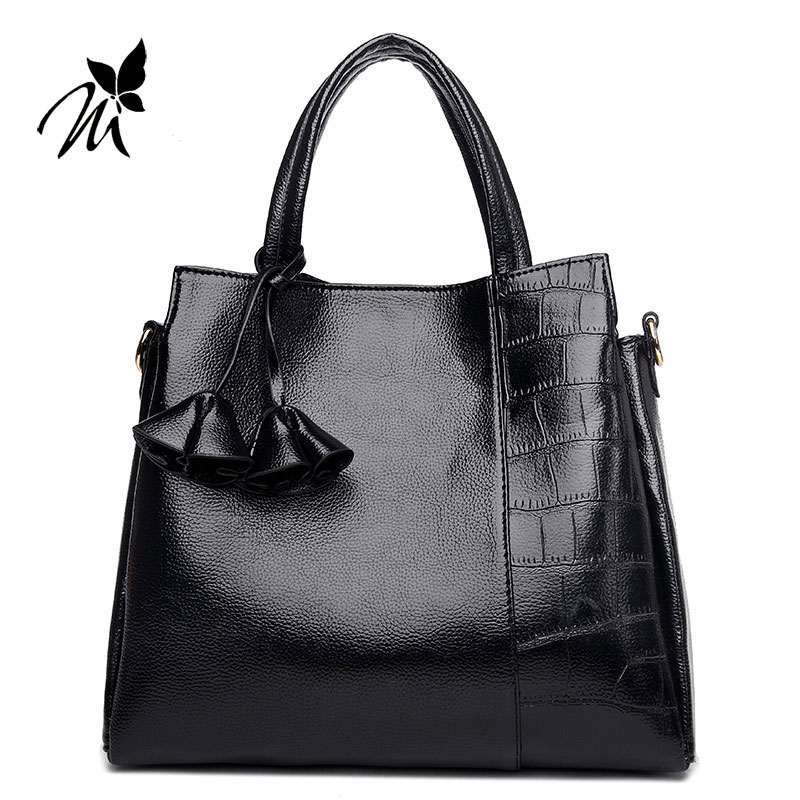 Europe and America brand new female bag worn new han edition tassel pendant small square stone grain one shoulder bags handbag