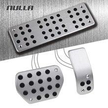 NULLA LHD алюминиевые педали для ног сцепление газ Топливо педаль тормоза для peugeot 307 408 C-Quatre Citroen C4 2008 2009 2010 2011 2012