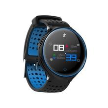 X2 плюс Спорт Фитнес IP68 Водонепроницаемый Смарт часы браслет запястье Монитор сердечного ритма крови Давление кислорода для IOS Android