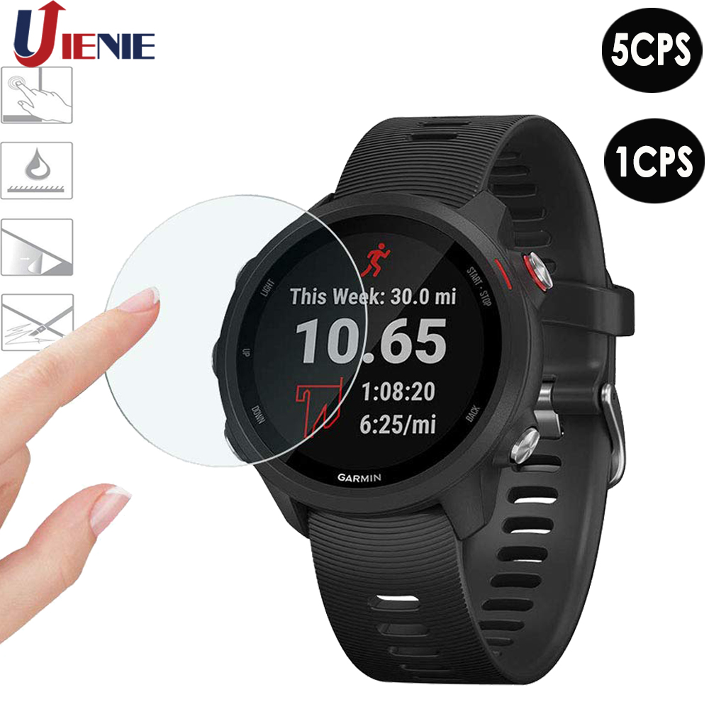 For Garmin Forerunner 245/245M Tempered Glass Watch Screen Protector Film Ultra Clear Protection Accessories