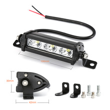 Car LED Light Work Light Bar White 6000k DRL Fog Lamps Lmap Bulbs for Auto 12V 24V Spotlight Car Light LED Car Styling