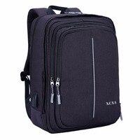 XQXA Multifunctional Fashion Businesss Backpack 17 Inch Laptop Women Men Rucksack Teenagers School Bag Large Capacity