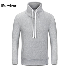 2017 Men Solid Color Hoodies Poleron Hombre Tracksuits Sweatshirts Men s Casual Fashion Slim Fit Pullovers