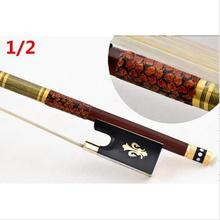 High quality violin bow size 1/2 violino brazilwood wood Bow Horse hair violin accessory bow accessories para violino