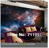 Free Shipping Personality Wallpaper Ceiling Space Wallpaper 3d Universe Black Wallpaper For Living Room Wallpaper For