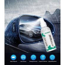 Nowe wydajne przedniej szyby samochodu środek zapobiegający parowaniu lusterko wsteczne odporne na deszcz powodzi Film okno wnętrze wodoodporny tanie tanio Uszczelnienie połysk do lakierów samochodowych new product 15cm 4 5cm 0 12kg 100ML Rainproof NoEnName_Null