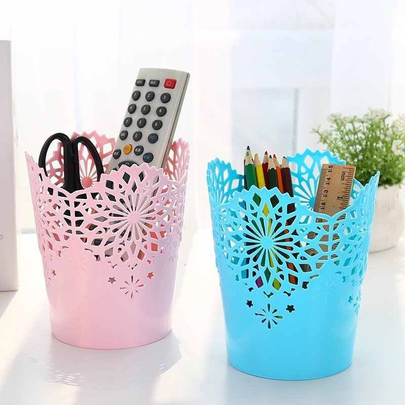 Креативный полый цветочный пенал для карандашей офисный Органайзер