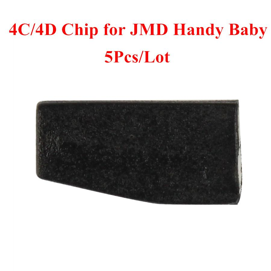 4C 4D Chip for JMD Handy Baby Hand held Car Key Copy Auto Key Programmer 5pcs