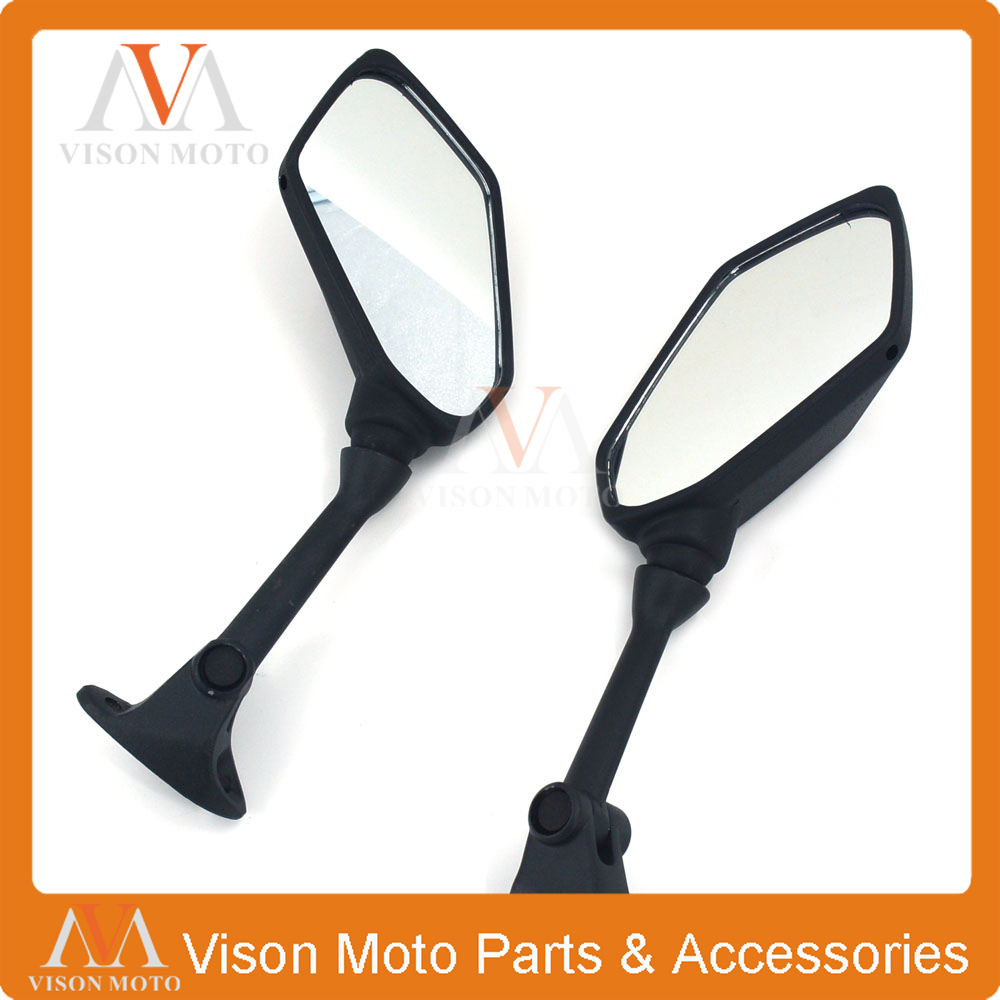 Motorcycle Side Mirror Rearview Rear View For KAWASAKI NINJA 650R 2009 2010 2011 2012 2013 2014 2015 400R Z1000SX ER6F ER-6F car rear trunk security shield shade cargo cover for nissan qashqai 2008 2009 2010 2011 2012 2013 black beige