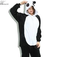 Panda Cartoon Women S Pajama Set Ladies Pyjamas Homen Clothes Adult Sleepwear Winter Night Suit Size