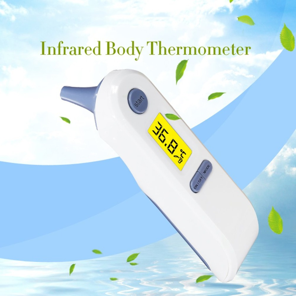 Tools Useful Tf-800 Ir Infrared Body Thermometer Portable Dual Mode Digital Medical Forehead Ear Thermometer For Baby Adults