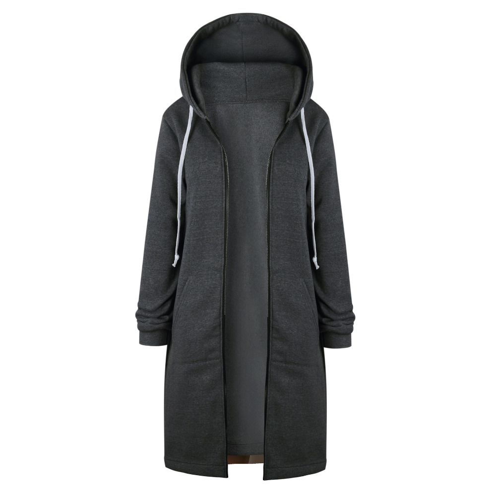 HTB1f5qSX3vD8KJjy0Flq6ygBFXak Women Warm Winter Fleece Hooded Parka Coat Overcoat Long Jacket Women Outwear Zipper Female Hoodies S-5XL plus size sweatshirt