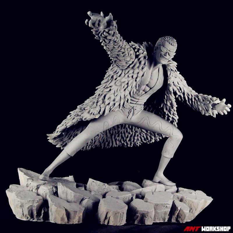 One Piece Donquixote Doflamingo 1/6 Figure Resin GK GARAGE KIT Action Figure Model Toy L3026