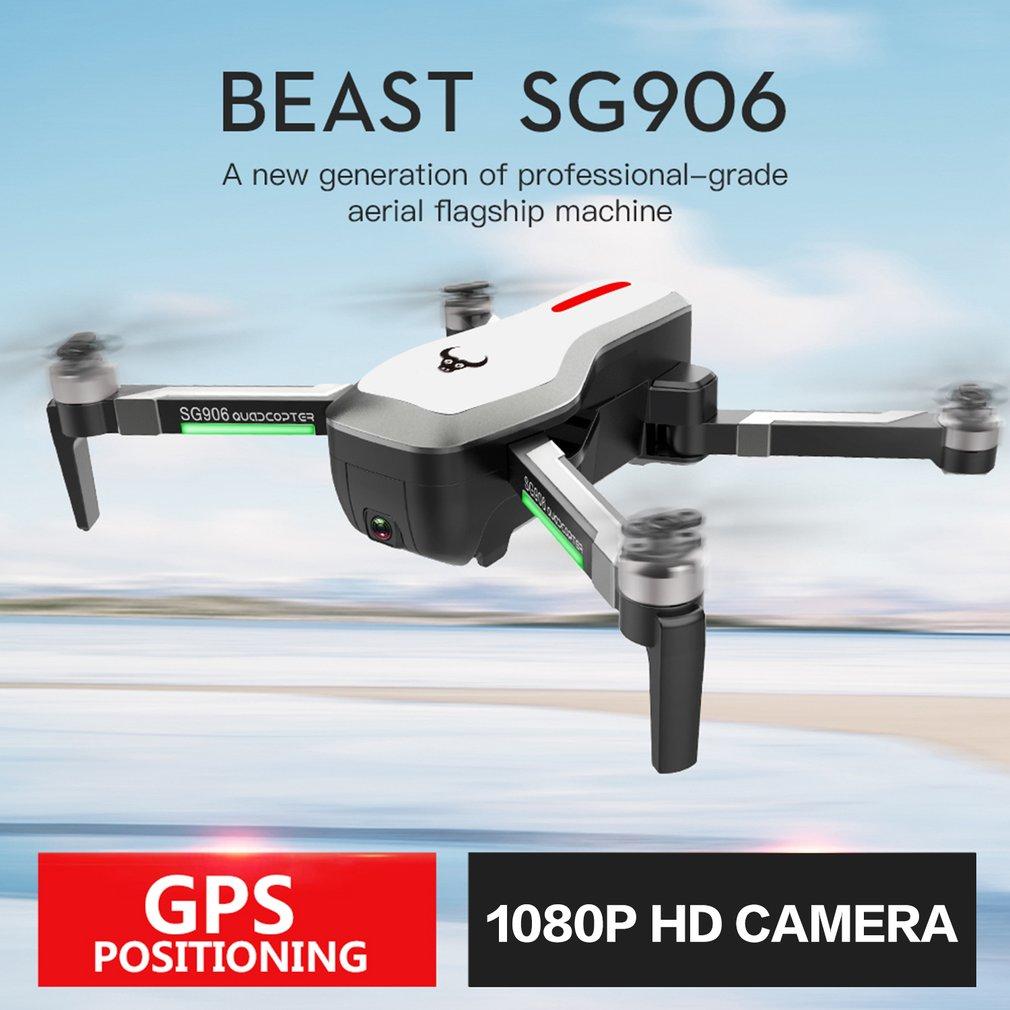 SG906 GPS 5G WIFI FPV RC quadrirotor jouets avec Selfie pliable 1080 P/4 K Ultra HD caméra RC Drone RTF VS XS809S XS809HW SG106 cadeau