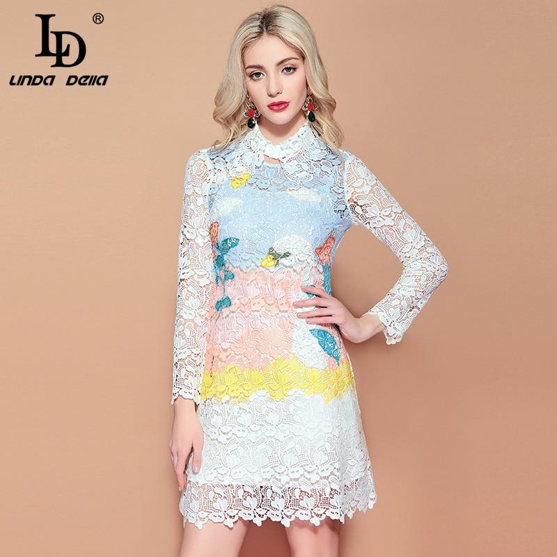 LD LINDA DELLA Lace Dress 2019122