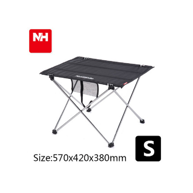 Outdoor Folding Tables And Chairs Set Aluminium Alloy Black Small Table 2  Folding Chair Fishing Leisure