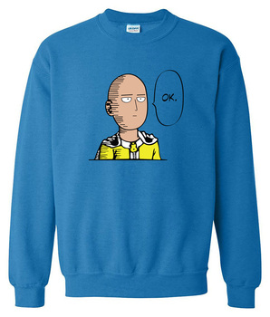 2017 sweatshirt men hoodies spring winter One Punch Man Hero Saitama Oppai anime cartoon men's sportswear harajuku hoody hip hop 1