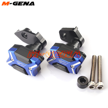 For GSX-S1000 2015 2016 2017 2018 Motorcycle Frame Slider Crash Engine protect Pad Side Shield Protect GSX S1000 GSXS1000