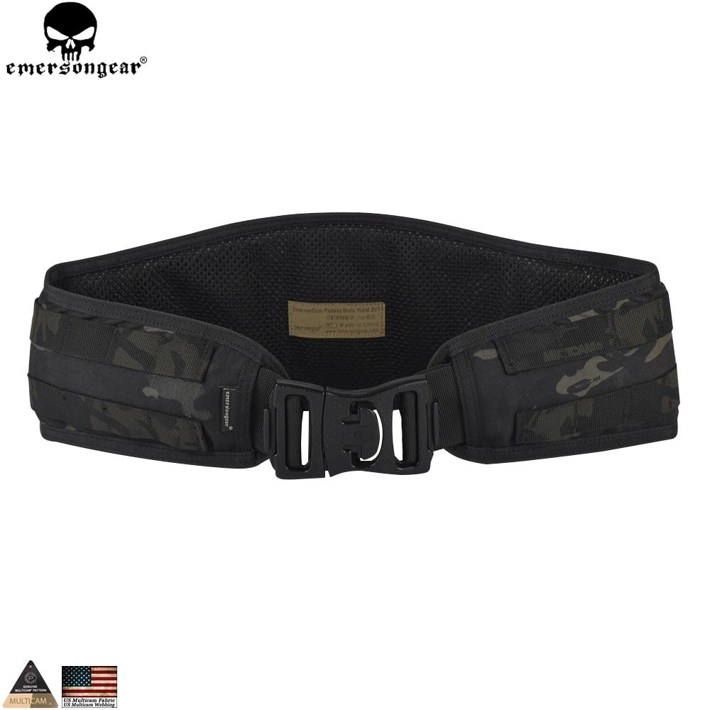 EMERSONGEAR Molle Waist Belt Tactical Hunting Molle Belt Airsoft Combat Waistband Molle Multicam Black Belt EM9086 цены онлайн