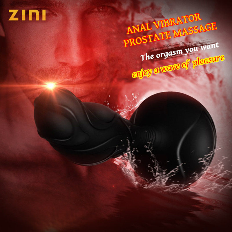 Sex Shop Powerful 10 Speeds Anal Dildo Butt Plug Prostate Massage Gay Anal Vibrator Stimulate Male Masturbator Sex Toys For Men new fasion cute 1pair colour soft ear plugs sleep work travel plane earplugs noise reducer good quality