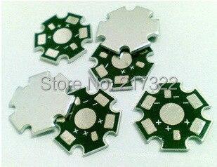 FREE SHIPPING 50pcs,100PCS,500PCS 1W 3W 5W High Power LED Heat Sink Aluminum Base Plate(China)