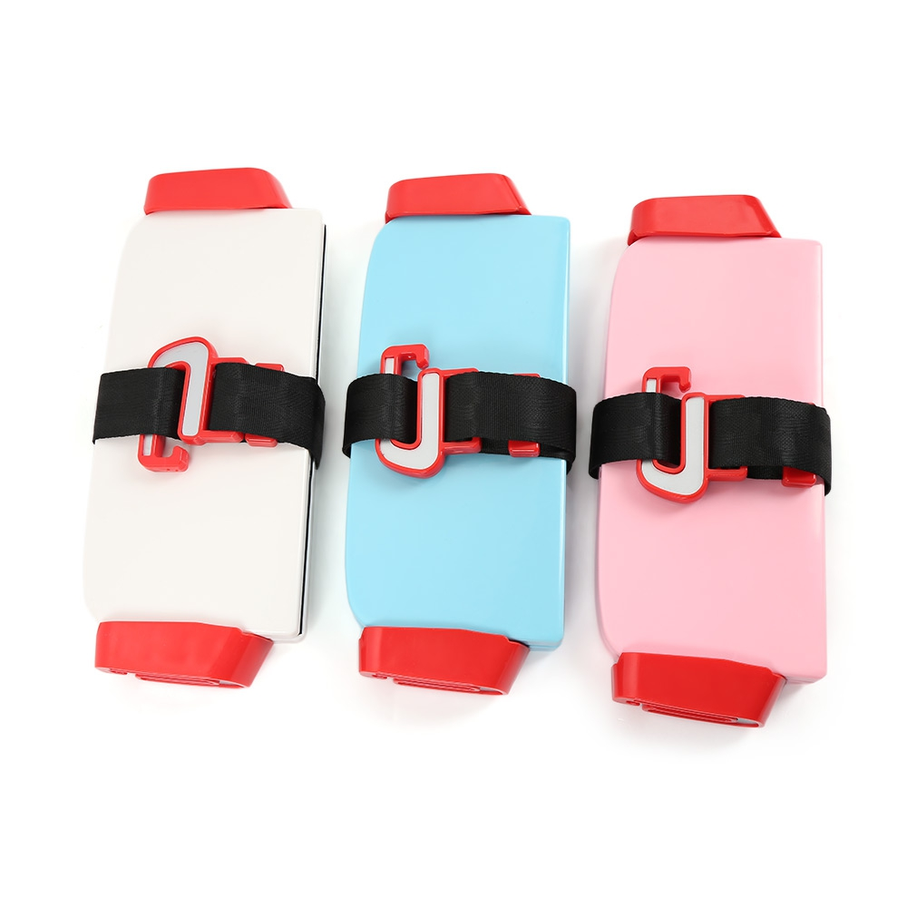 Portable Foldable Children Kids Safety Booster Car Seat Adjustable Strap Car Seat Harness Pad Cushion Toddlers Kids Safe Seats (5)