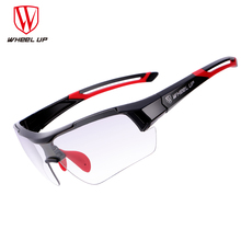 Wheel Up Bike Photochromic Glasses Outdoor Sports Cycling Glasses Unisex Anti-uv Mtb Mountain Windproof Bicycle Sunglasses Men