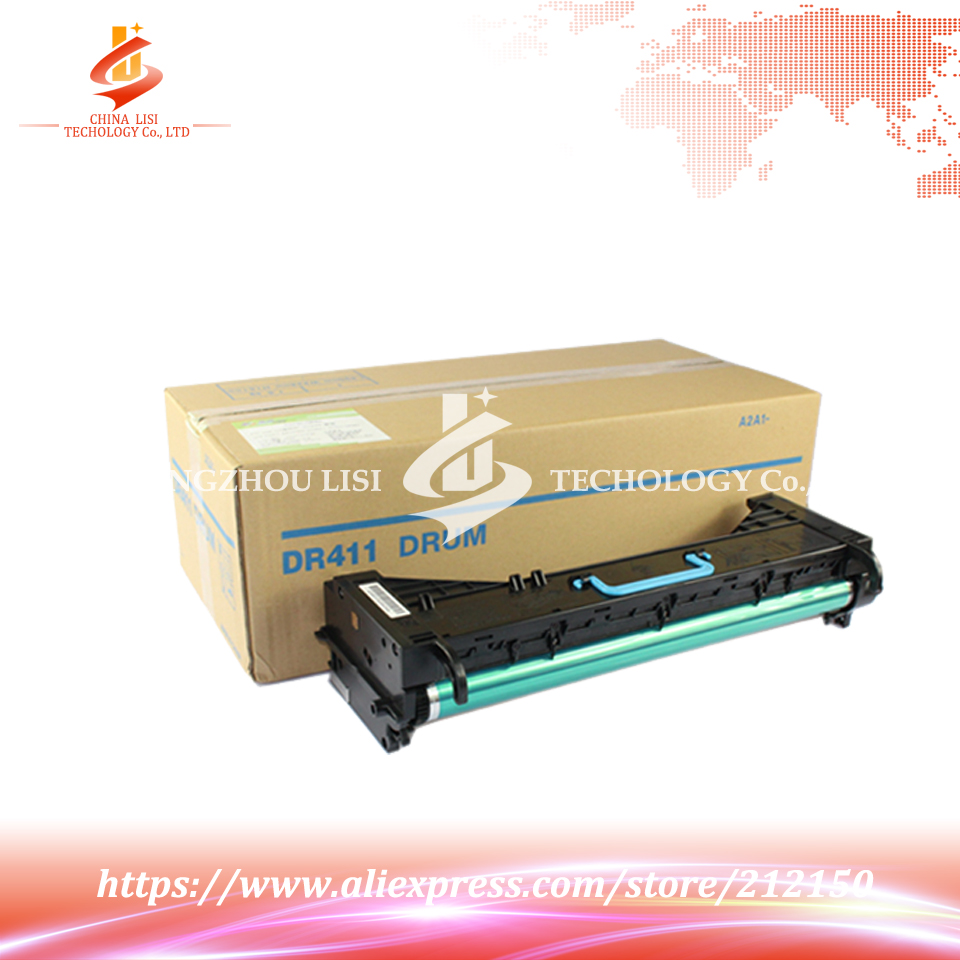 ФОТО DR-411 Compatible ALZENIT For Konica Minolta 223 283 363 423 7628 7828 OEM New Imaging Drum Unit Black Color on sale