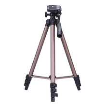 WT3130 Aluminum Alloy Camera Tripod Stand with Rocker Arm for Canon Nikon Sony DSLR Cameras Camcorders Lightweight Mini Tripod