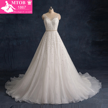MTOB1867 Robe De Mariage 2016 Vintage Wedding Dress