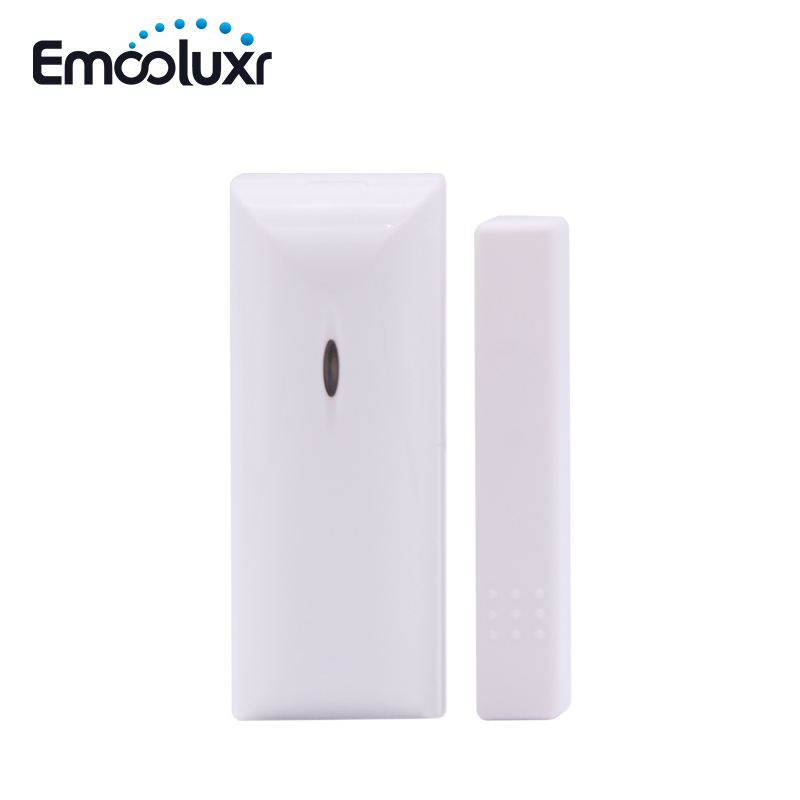 2pcs/lot MD-210R 433MHz Wireless Door/Window Magnetic Contact Alarm Sensor iHome Focus GSM PSTN Home Burglar Alarm System