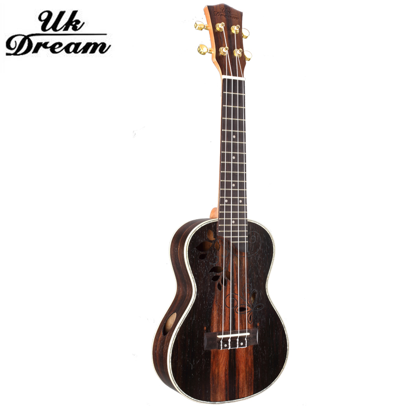 23 Inch 4 strings mini Wood Acoustic Guitar Classical Instruments Ebony Rotary Closure 18 Fret Listing Active ukulele UC-D95 savarez 510 cantiga series alliance cantiga ht classical guitar strings full set 510aj