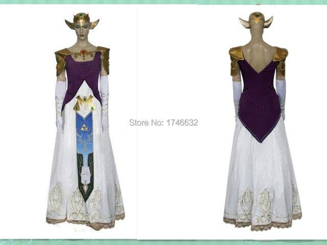 2015 NEW Hot Anime The Legend of Zelda Cosplay Princess Zelda Costume Party Dress Women Man  sc 1 st  AliExpress.com & 2015 NEW Hot Anime The Legend of Zelda Cosplay Princess Zelda ...