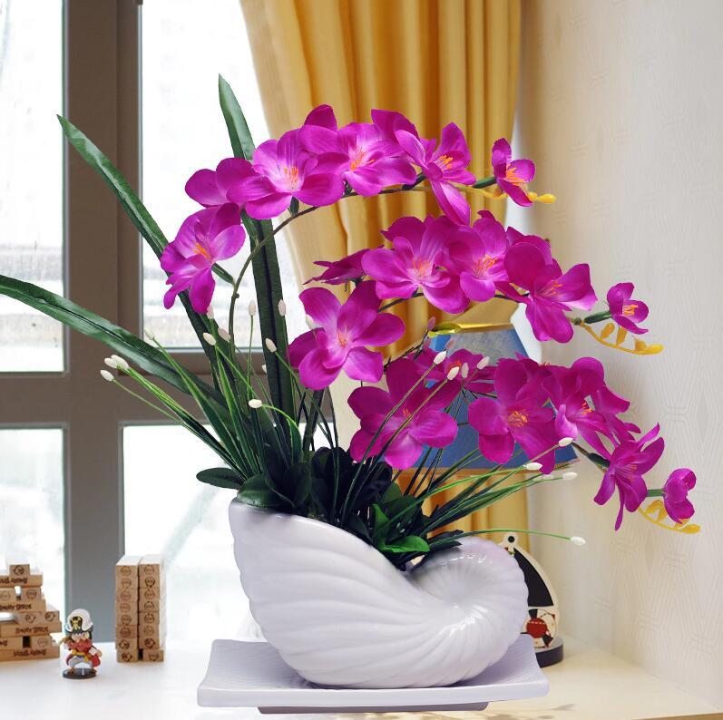 Online Shop Ceramic Vase Elegant Luxury Tulip Table Furnishing ...