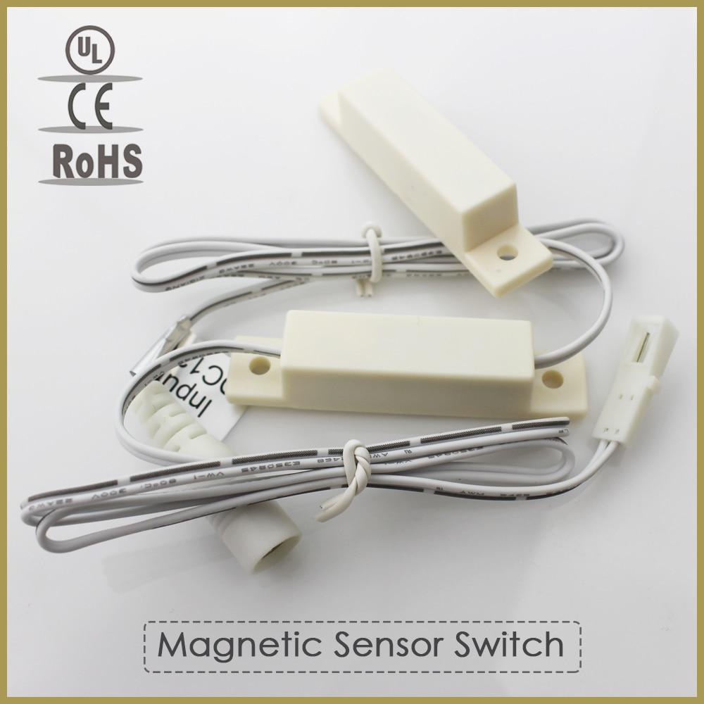 20pcslot 12v 3a Automatic Magnetic Sensor Switch For Led Bar Light