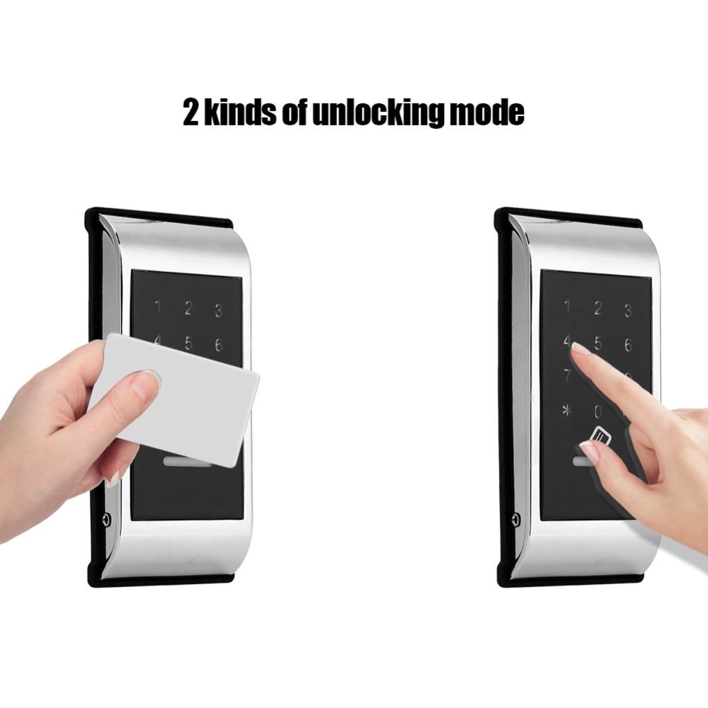 Tech Locker Touch Keypad Password Key Access Lock Digital Electronic Security Cabinet Coded Locker Cabinet Lock Fechadura Eletro 13