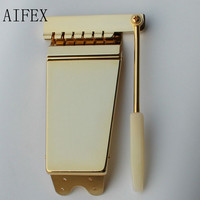 New Popular WD Long Vibrola Tremolo Maestro Tailpiece w/ Arm GOLD And Chrome for Guitar SG LP from Korea
