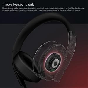 Image 3 - الأصلي شاومي MI الألعاب سماعة 7.1 الظاهري المحيطي سماعات 3.5 مللي متر مع ميكروفون إلغاء الضوضاء للهاتف المحمول الكمبيوتر PS4