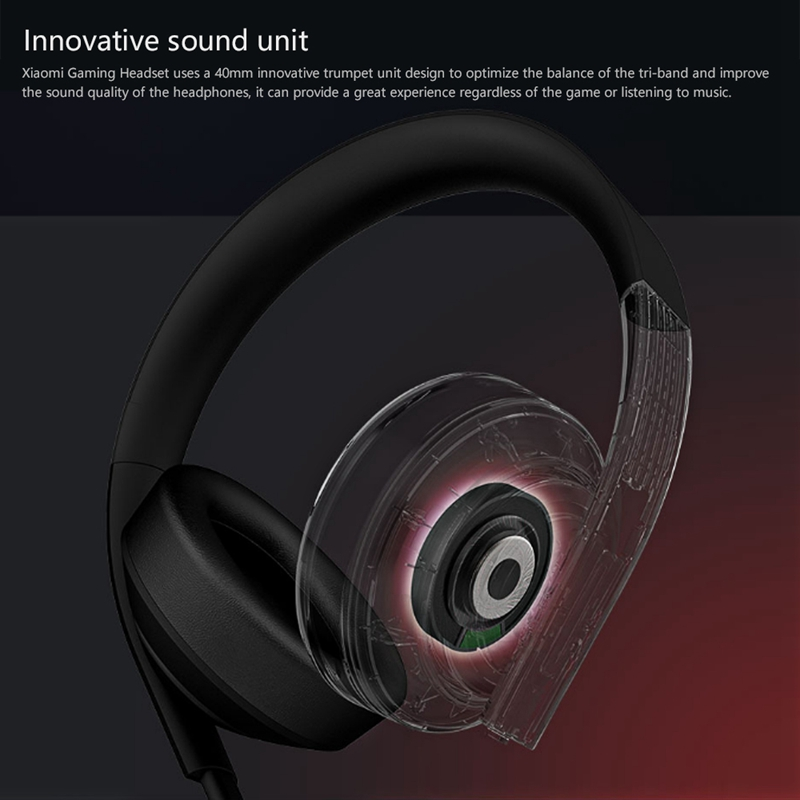 Image 3 - Original Xiaomi MI Gaming Headset 7.1 Virtual Surround Headphones 3.5mm With Microphone Noise Cancelling For PC PS4 Laptop Phone-in Phone Earphones & Headphones from Consumer Electronics