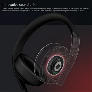Image 3 - Original Xiaomi MI Gaming Headset 7,1 Virtuelle Surround Kopfhörer 3,5mm Mit Mikrofon Noise Cancelling Für PC PS4 Laptop Telefon